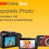 KODAK : 10 euros de réduction sur votre appareil photo numérique