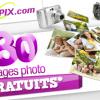80 tirages photo gratuits pour toute première inscription chez myPIX !