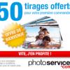 PHOTO SERVICE : 50 Tirages Photo Gratuits