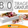 PHOTOWEB : 80 Tirages Photo Gratuits ou 5 euros de remise sur un livre photo