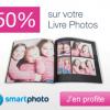 SMARTPHOTO : Rermise de 50% sur le livre photo ENJOY