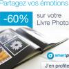 60% de remise sur les livres photo smartphoto