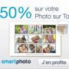 SMARTPHOTO : Remise de 50% sur votre photo sur toile